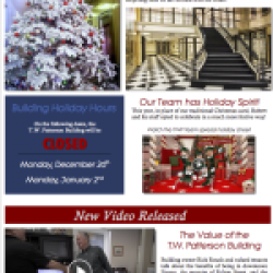 December 2016 Building Newsletter